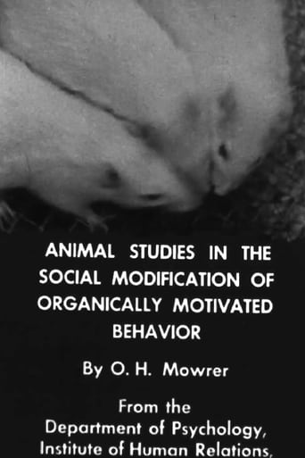 Animal Studies in the Social Modification of Organically Motivated Behavior
