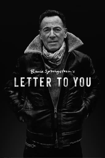 Watch Bruce Springsteen's Letter to YouFull Movie Free 4K