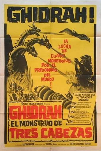 Godzilla contra Ghidorah, el dragón de tres cabezas