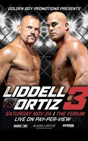 Golden Boy MMA Liddell vs Ortiz 3