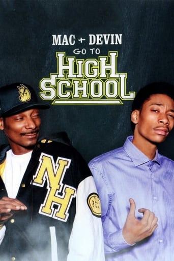 Мак и Девин идут в школу