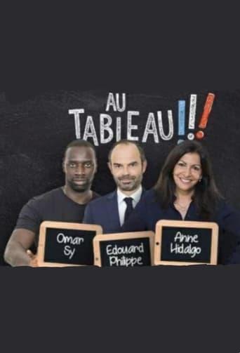 Au tableau - Edouard Philippe / Anne Hidalgo / Omar Sy