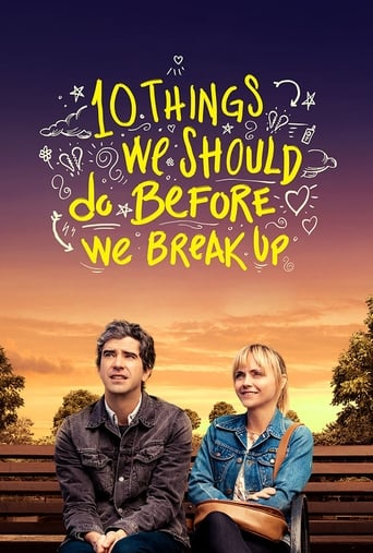 10 Things We Should Do Before We Break Up poster