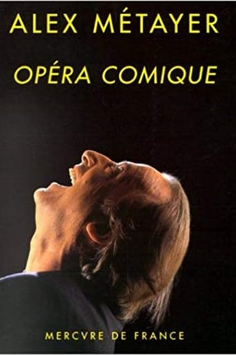 Alex Métayer à l'Opéra Comique