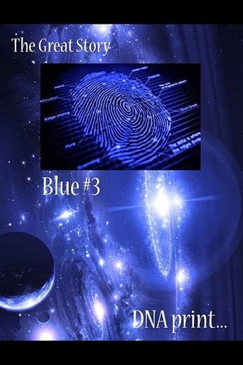The Great Story: Blue #3 DNA Print