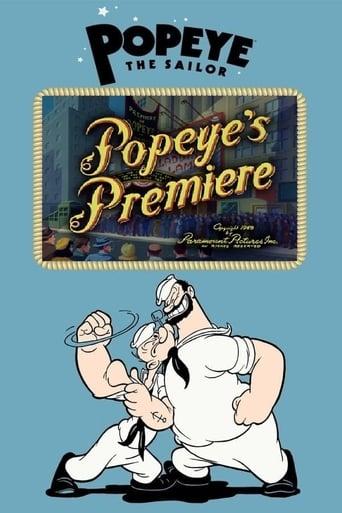 Popeye the Sailor: Popeye's Premiere