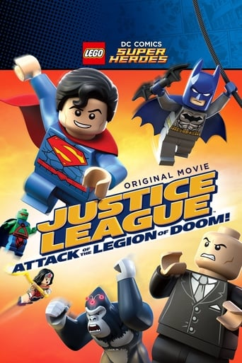 Watch Lego DC Comics Super Heroes: Justice League  Attack of the Legion of Doom! Online