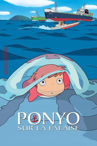 Ponyo sur la falaise