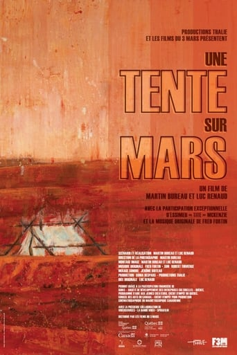 Une tente sur Mars