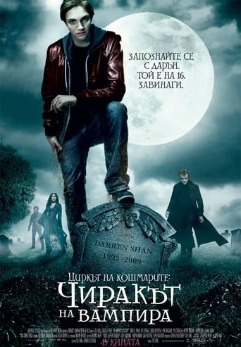 Циркът на кошмарите: Чиракът на вампира