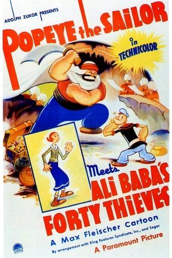 Popeye rencontre Ali Baba et les 40 voleurs