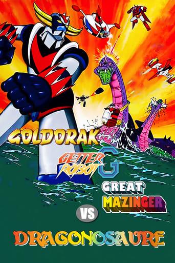 Goldorak, Getter Robot G, Great Mazinger contre Le Dragonosaure