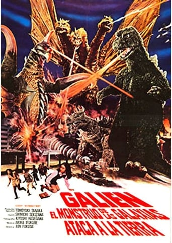 Galien, el monstruo de las galaxias ataca la Tierra