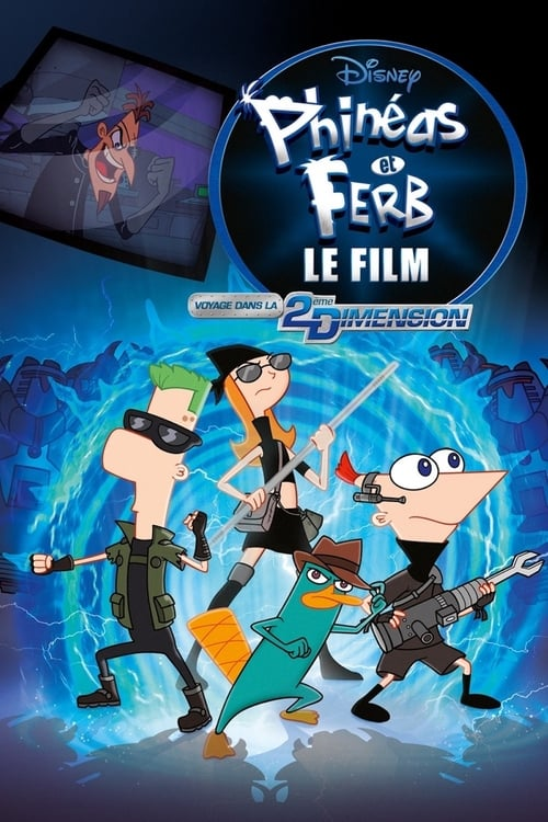 Phineas Et Ferb Le Jeu : phineas, Comment, Regarder, Phinéas, Ferb,, Voyage, 2ème, Dimension, (2011), Streaming, Ligne, Streamable