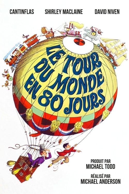 Le Tour Du Monde En Quatre-vingts Jours (film, 1956) : monde, quatre-vingts, jours, (film,, 1956), Around, World