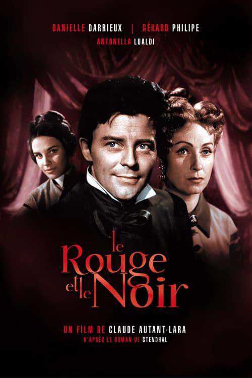 Le Rouge Et Le Noir Film Streaming : rouge, streaming, Watch, Rouge, (1954), Streaming, Online, Streamable