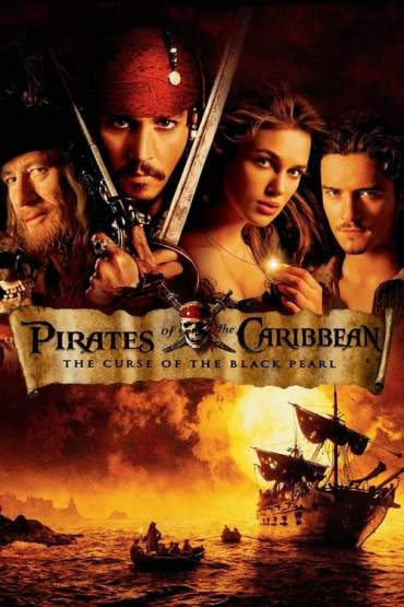 Download Pirates of the Caribbean: The Curse of the Black Pearl (2003) {Hindi-English} 480p [370MB] || 720p [1GB] || 1080p [2.6GB]
