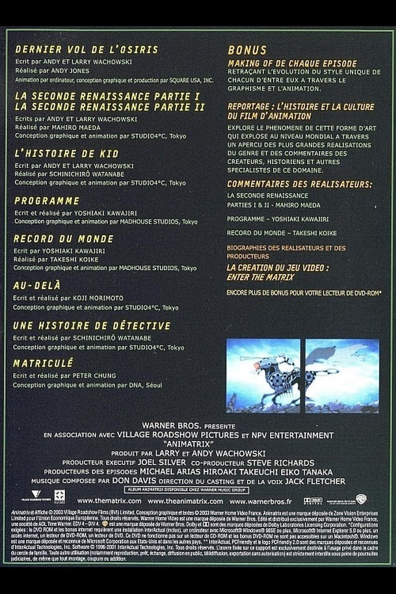 Executions: The Making of 'The Animatrix'