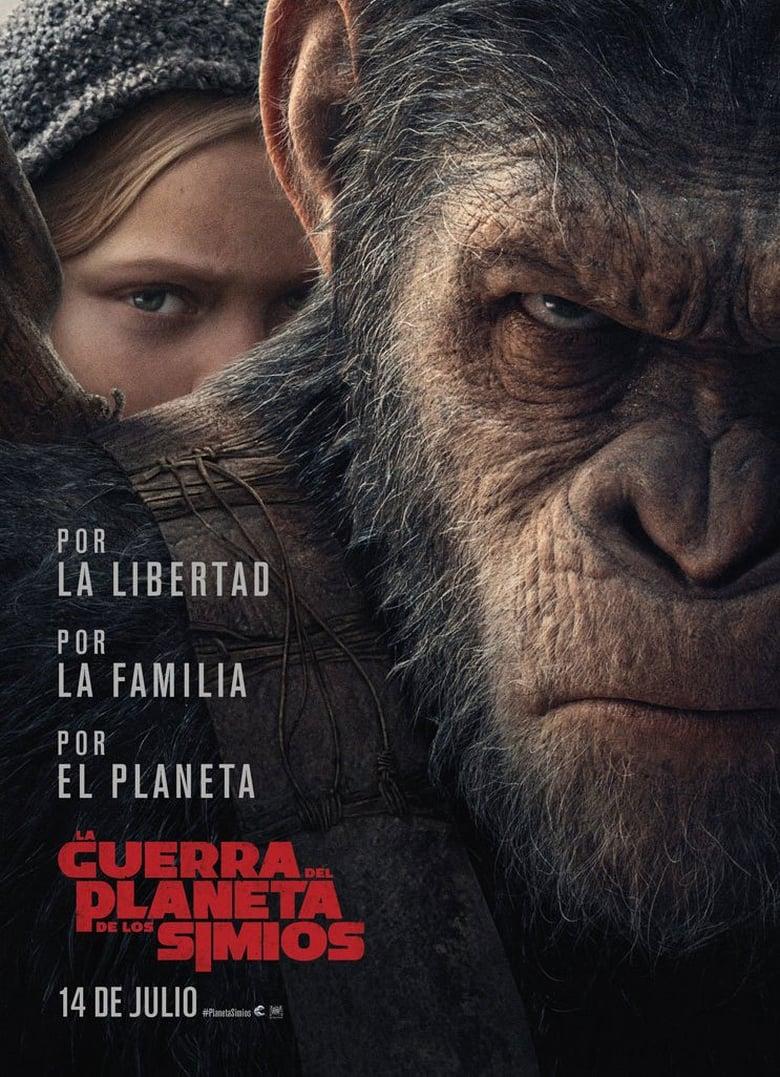 EL PLANETA DE LOS SIMIOS: LA GUERRA (2017) HD 720P LATINO/INGLES