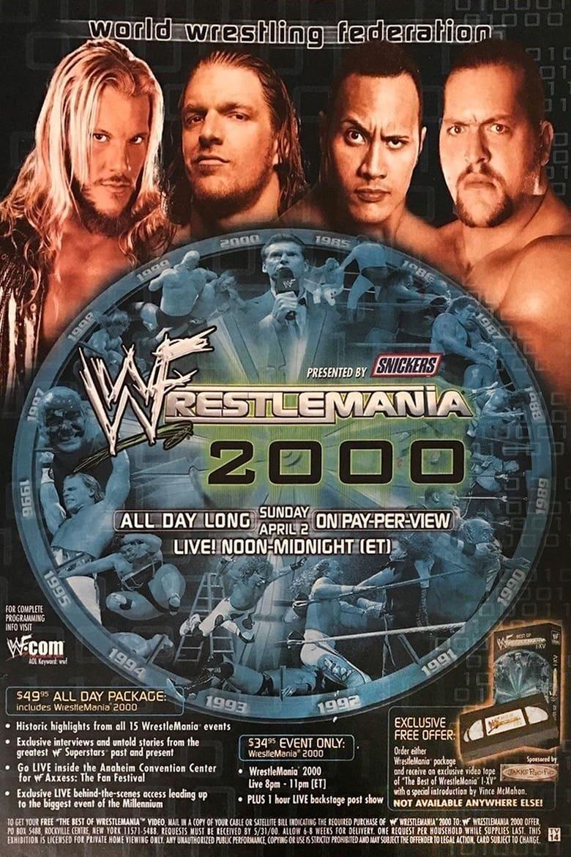 WWE WrestleMania 2000
