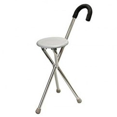 Walking Cane Seat Chairs Chair Covers Hire Sydney Online Store Gaomei Stick Stool Three
