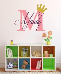 Online Store: Baby Girl Initial Personalized Custom Name ...