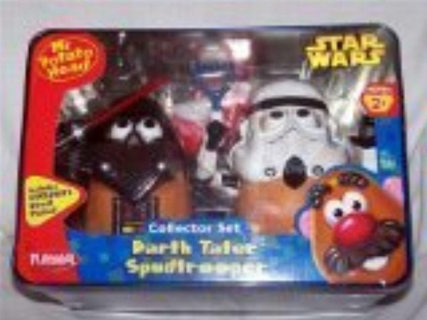 Online Store Darth Tater And Spudtrooper Potato Head