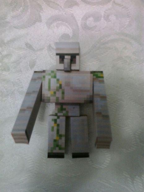 Comment Faire Un Golem De Fer : comment, faire, golem, Minecraft, Golem, Papercraft, Étape, Armado., 4EVER, Tubefr.com