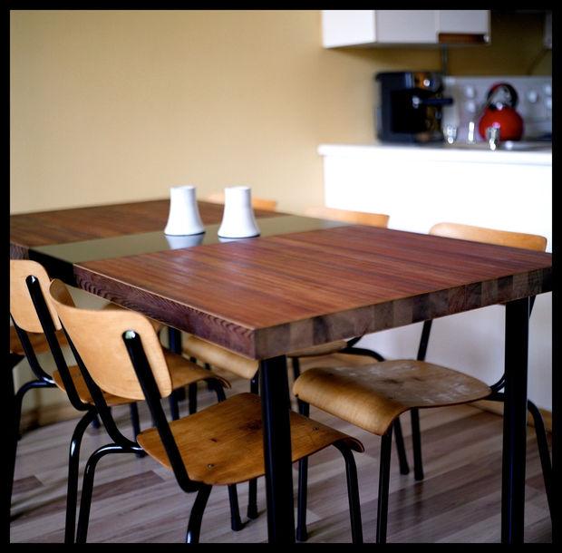je cherchais une lumiere a la recherche de table qui peut accueillir jusqu a 6
