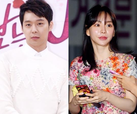ภาพ พัคยูชอน และอดีตคู่หมั้น ฮวังฮานา จากสำนักข่าว tvdaily