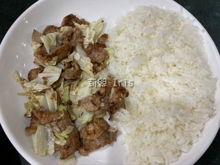 佳美味 高麗菜豬肉飯