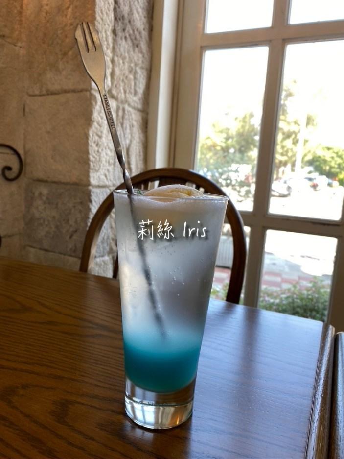 米約 藍色泡泡(氣泡飲)