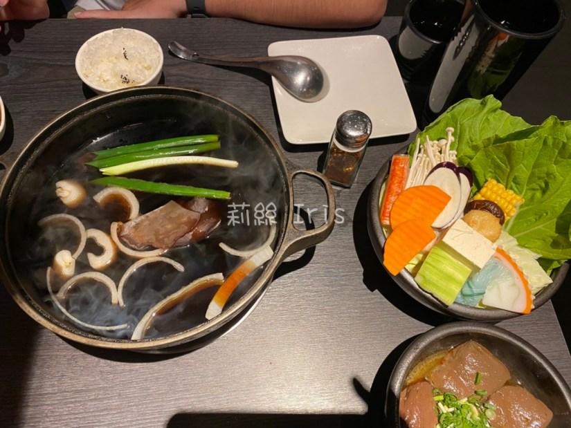 梅花豬肉壽喜燒火鍋
