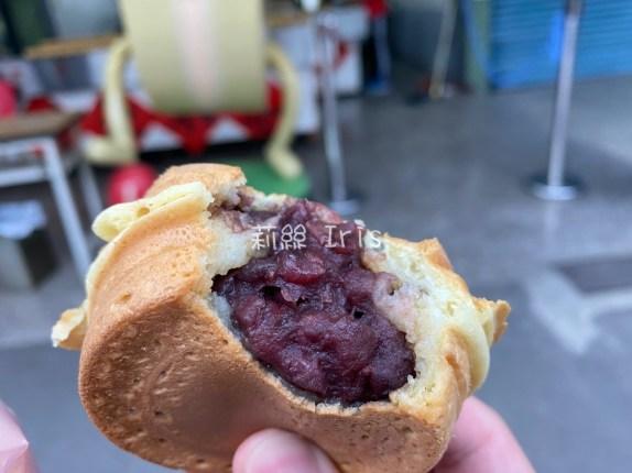 屏東最好吃的紅豆餅!黃萬丹紅豆餅,咬下去直接爆餡~一顆只要12元