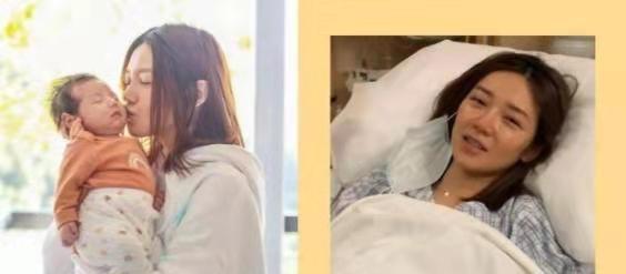 32歲香港網紅女神曝生娃視頻,過程一波三折,直呼順產痛1萬倍