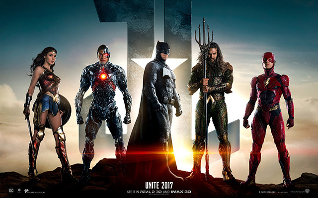 Justice League movie art