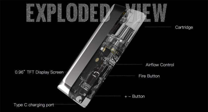 Suorin Air Mod kit Exploded View