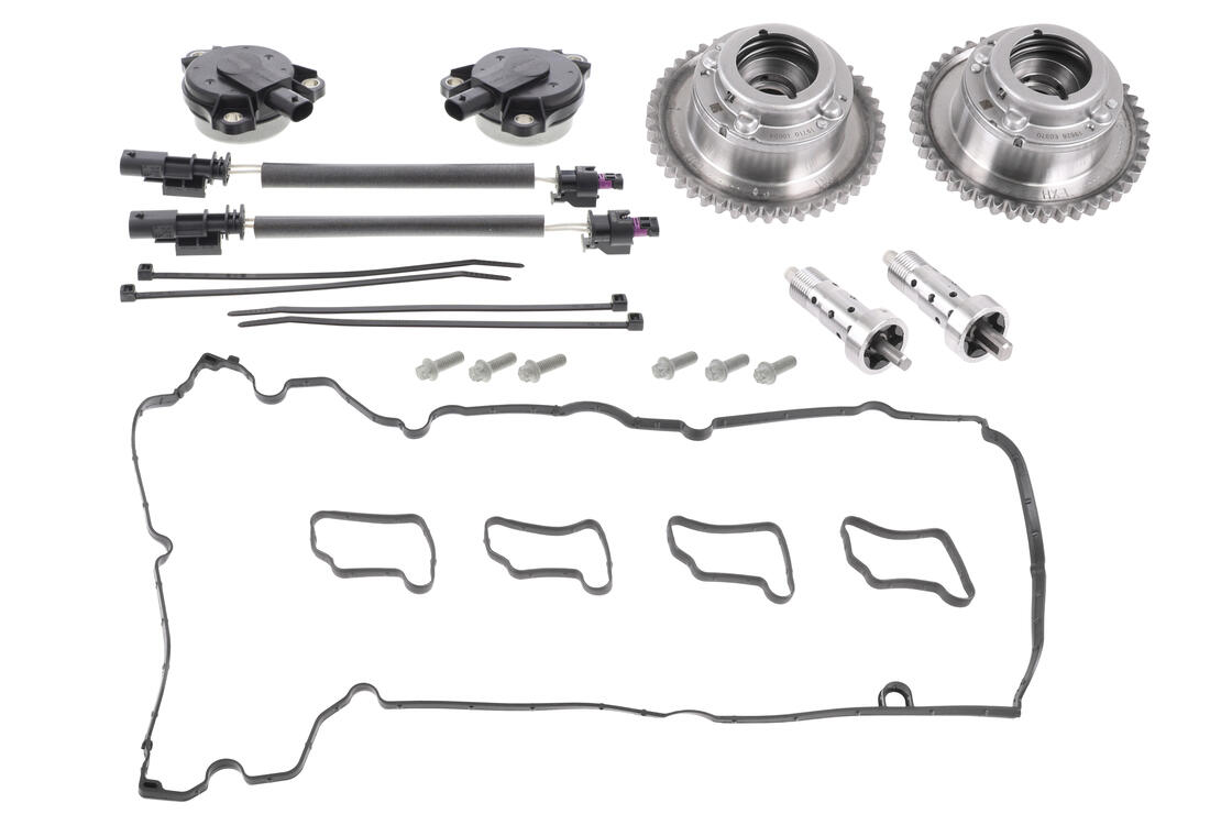 VAICO Repair Kit, camshaft adjustment V30-3428 for