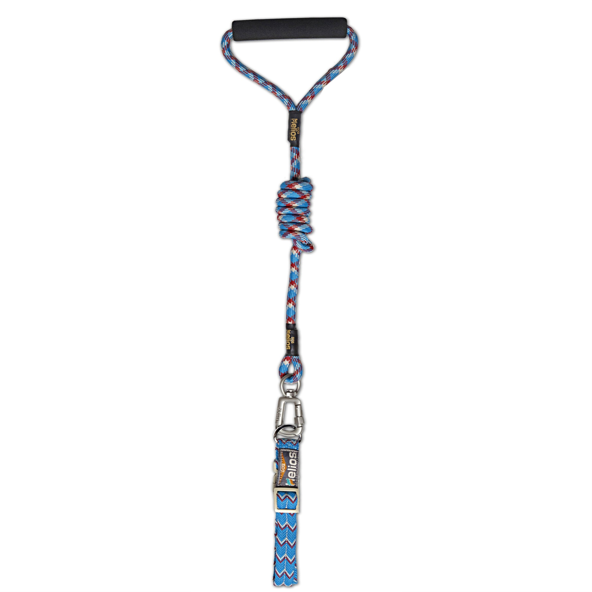Helios Dura Tough Easy Tension 3m Reflective Pet Leash And