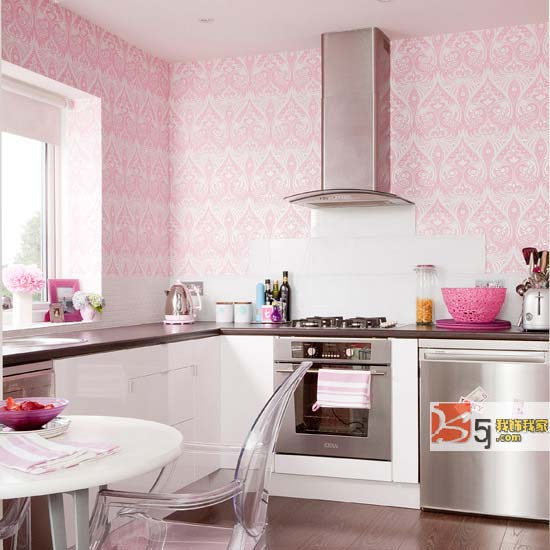 wallpaper for kitchen small remodel pictures 厨房壁纸搭配烹饪的欢乐时光 王朝网络 wangchao net cn