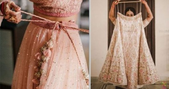 Image result for alteration and fitting of bridal lehenga in process