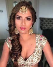 bridal braids indian brides