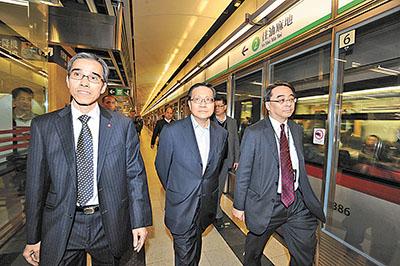 張炳良:兩線跳掣罕有 - 香港文匯報