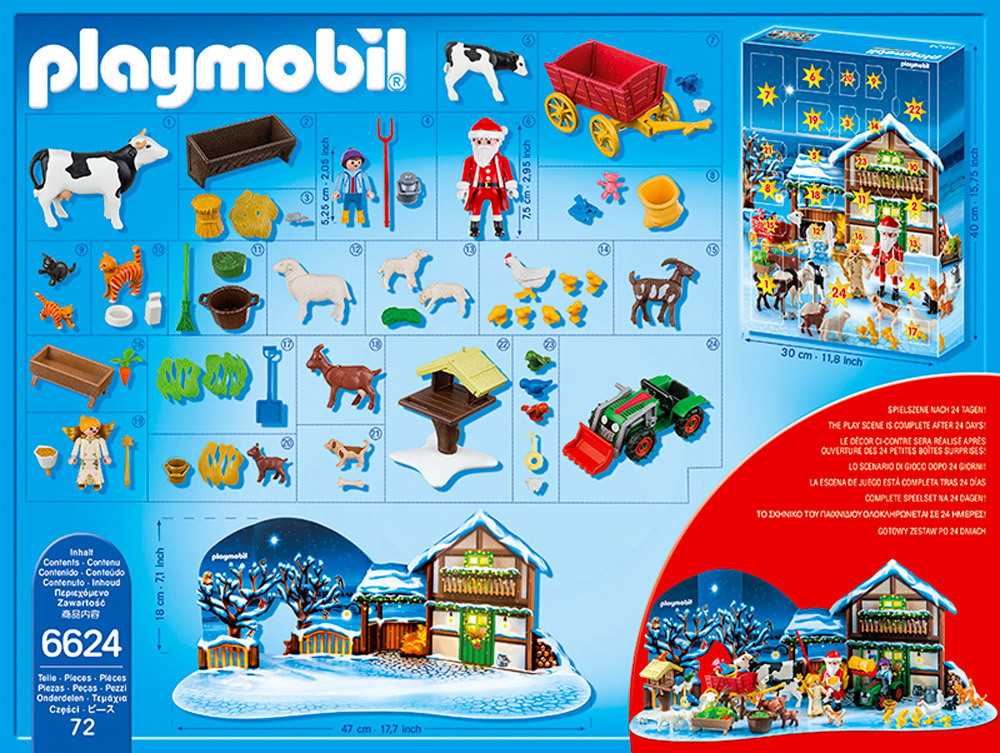 "Kindermöbel Von Geuther Playmobil® Christmas - 6624 - Adventskalender ""weihnacht"