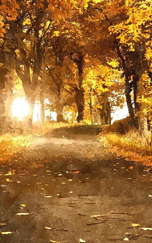 Fall In Love Leaf Wallpaper Autumn Live Wallpaper Apk Download Free Personalization