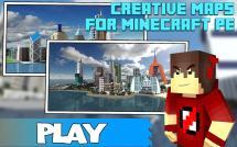 Minecraft PE Creative Maps