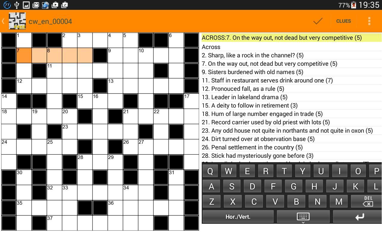 Ultimate Crossword Puzzles Apk Baixar