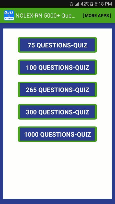 NCLEX-RN Quiz 5000 Questions APK Download - Free Education APP for Android | APKPure.com