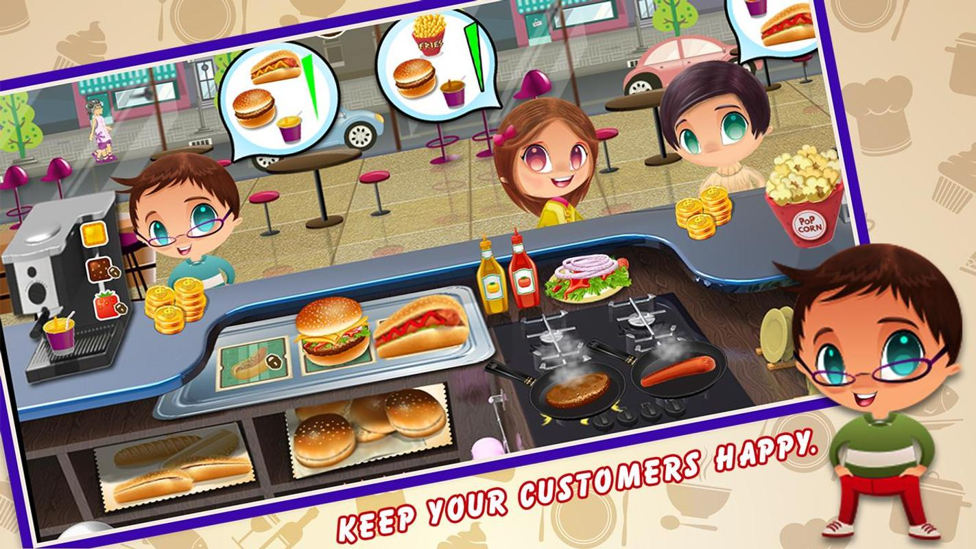 kitchen cooking games light fixtures fever  game apk download free casual