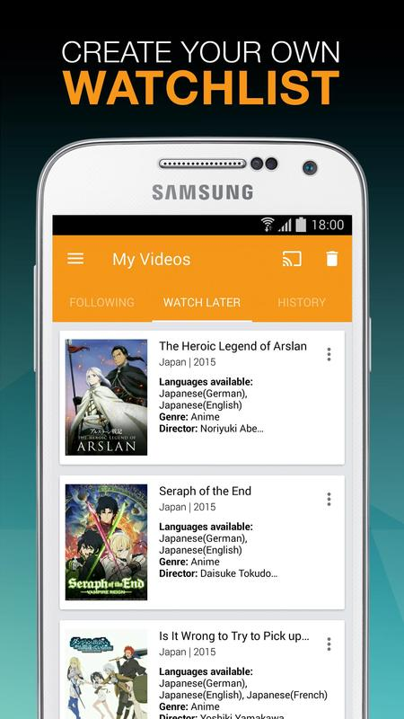 Viewster  Anime  Fandom TV APK Download  Free